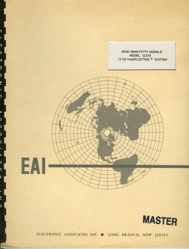 Cover of the manual.